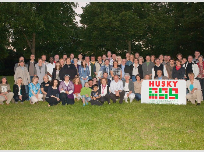 Gruppenfoto 20 Jahre Projekt Husky   Fotograf: Michael Rasche