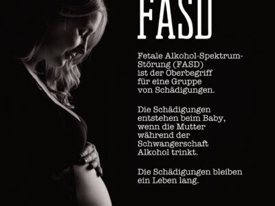 Vorschau zum PDF-Flyer über FASD (Fetale Alkohol-Spektrum-Störung)