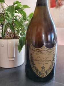 Champagne Dom Perignon Vintage 1990 zum 30 jährigen Jubiläum