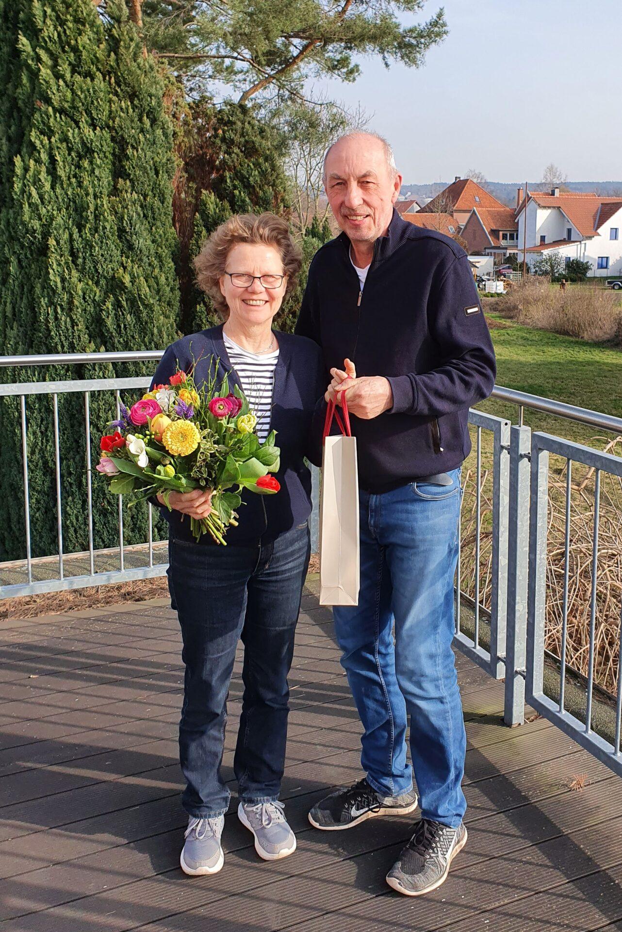 Eva Felka und Volker Harre